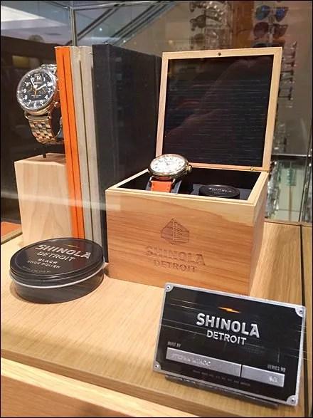Shinola Museum Case Shines