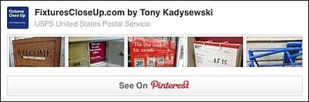 USPS United States Postal Service Pinterest Board