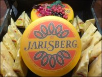 Thumping Jarlsberg Cheese Wheels