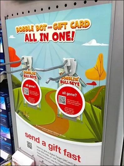 All-Gone QR Code at Target 1