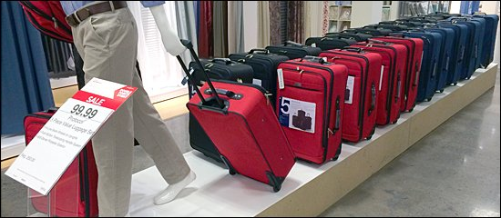 JCPenny Luggage Parage 550