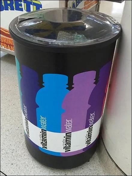 VitaminWater Branded Circular Cooler