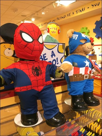 Build-A=Bear Spiderman 2