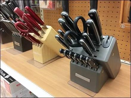 Threaded Anchor for Cutlery Display