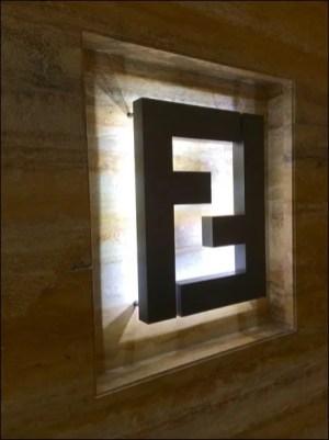 Fendi F Entwined Detail