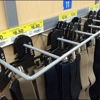 Suspenders Merit a Guarded Endcap Rack