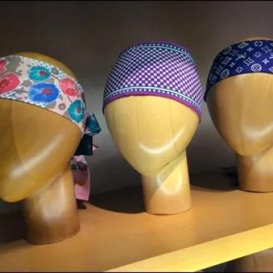 Louis Vuitton Scarf Headform Triplets Aux