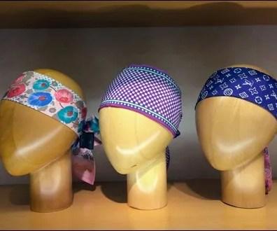 Louis Vuitton Scarf Headform Triplets Main