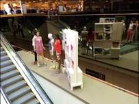 Macys Mannequins on a Ledge 1