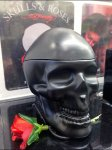 Skulls and Roses Point-of-Purchase Angled