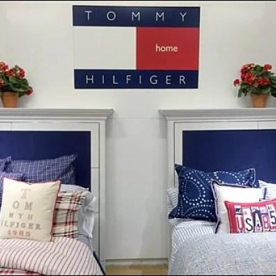 Tommy Hiulfiger Home Departmental Branding
