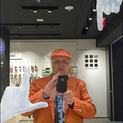 Tony Kadysewski Moleskine Store Selfie Main