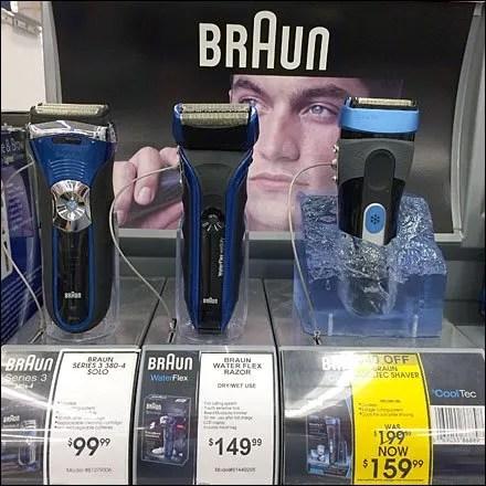 Braun CoolTec Ice Cube Prop Display
