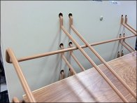 Declined Hook Arm Trays for Flooring 2