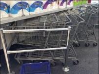 Diagonal Shopping Cart Park 1