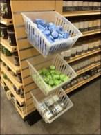 Slatwall Plastic Bins For Sophisticates