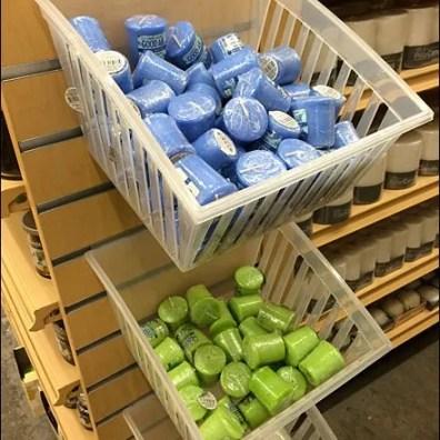 Slatwall Plastic Bin For Sophisticates