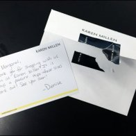 Karen Millen Handwritten Thank You Main