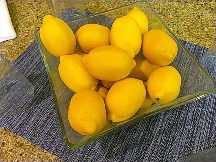 Lemon and Lemonade Prop CloseUp