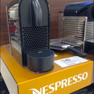 Nespresso Branded Shelf Overlay