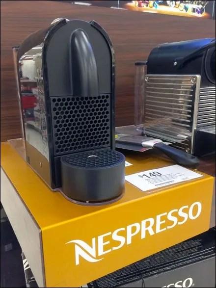 Nespresso Branded Shelf Overlay