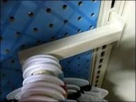 Semi-Circular Rack for Gondola Upright 3