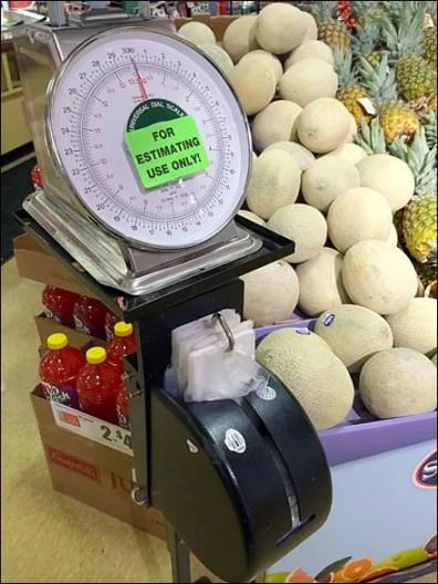 Shielded Produce Bag Dispenser 1