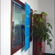 Suction-Cup Mount Fabric X-Banner Aux