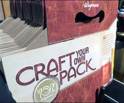 Wegmans Craft Your Own Craft Beer 3