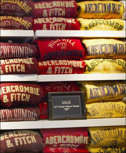 Abercrombie & Fitch De-Branded - Abercrombie & Fitch Courtesy Mashable Main