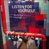Bose PVC Pipe Headphone Display