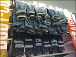 Cuffed Cascade of Jeans Overall