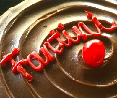 Fantini Chocolate Mousse Logotype in Fosting