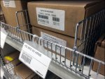 Fenced Boxed HVAV Plumbing Fittings CloseUp
