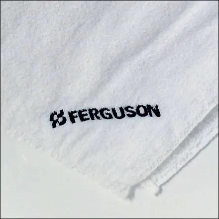 Ferduson Brands Bathroom Towels Closeup
