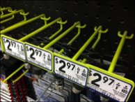 Green All Wire Metal Plate Hooks 3