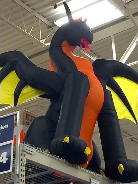 Halloween Dragon Inflatable