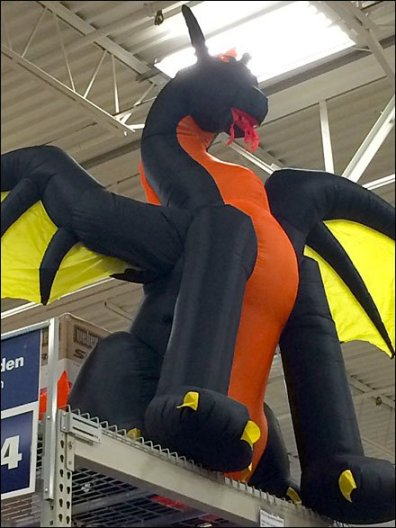 Halloween Dragon Inflatable