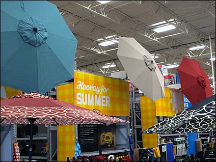 Hooray for Summer Beach Umbrellas Aux