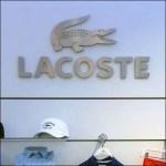 Lacoste Dept Branding Detail