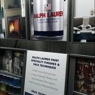Ralph Lauren Now Brands Paint