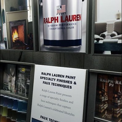 Ralph Lauren Now Brands Paint