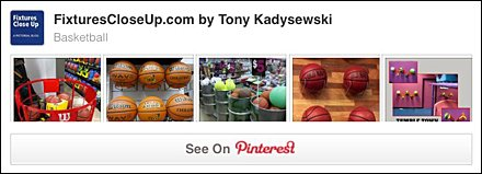 Basketball Pinterest Board