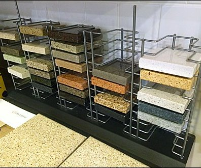 Open-Wire CaesarStone Tile Sampler