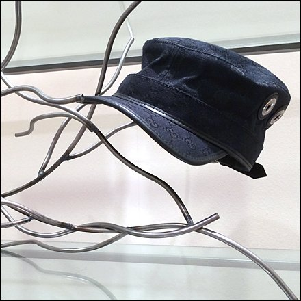 Gucci Patrol Cap Wired For Display