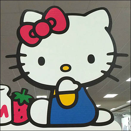 Hello Kitty Retail Fixtures