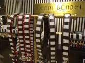 Henri Bendel Belt T-Stand Outfitting