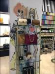 Henri Bendel Fashion Art Wall In-Store
