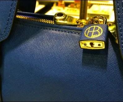 Henri Bendel Branded Lock For Purses
