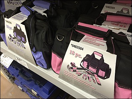 Women's Tools Color Merchandising